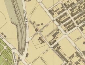 Stadtplan 1905
